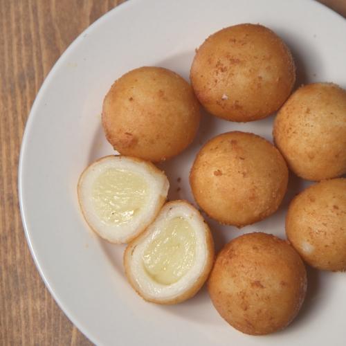 무농약쌀 감자치즈볼