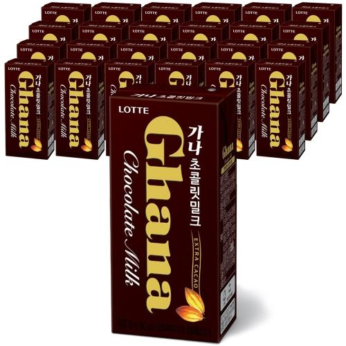 파스퇴르 가나 초콜릿 밀크190mlx24팩