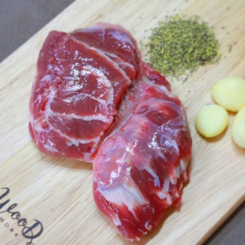 바보푸드 돼지 뽈살 1kg