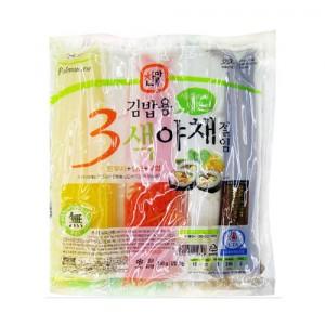 찬마루3색야채절임(단무지+당근+우엉)