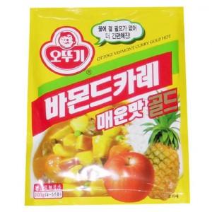 오뚜기바몬드카레골드매운맛 100g