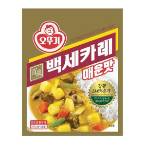 오뚜기 백세카레 매운맛 100g