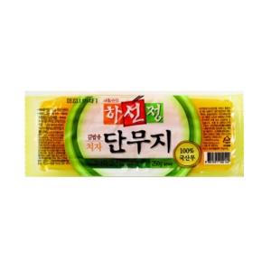 하선정김밥용치자단무지 250g