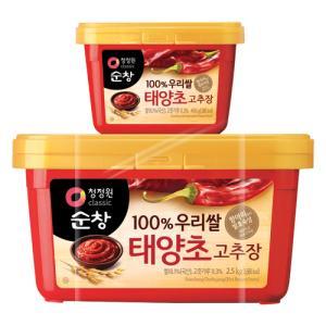 청정원 순창우리쌀 태양초고추장 2.5kg