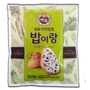 백설밥이랑(야채) 27G