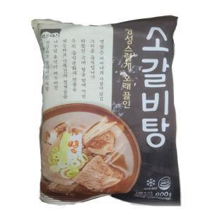 [식자재] 고향옛맛소갈비탕 600g / 팍스