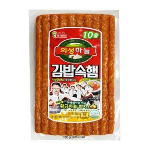 롯데의성마늘김밥속햄 100g