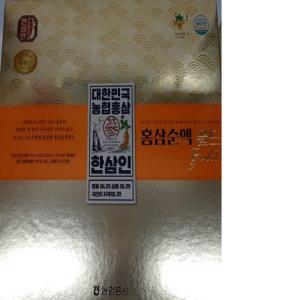 (특산) 한삼인 홍삼순액 60포